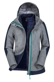 Esk Womens 3 in 1 Jacket
