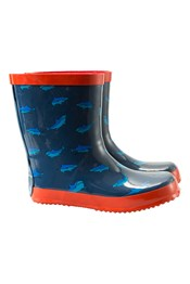 Steve Backshall Shark Kids Wellies