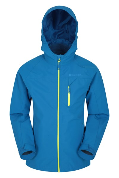 Brisk Extreme Boys Waterproof Jacket - Blue