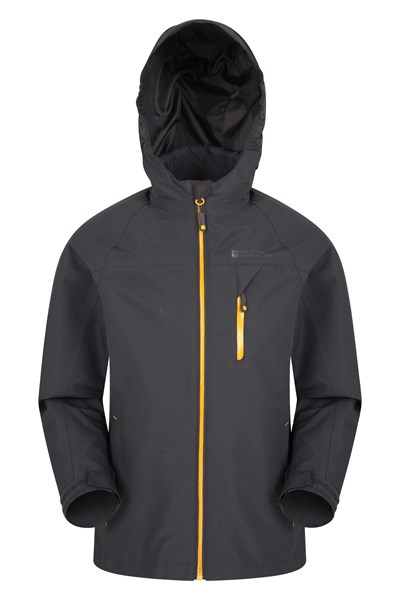 Brisk Extreme Boys Waterproof Jacket - Grey