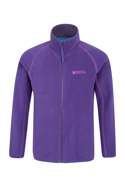Rascal Kids Microfleece Jacket - Purple