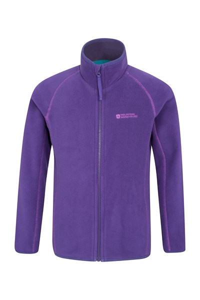 Rascal Kids Microfleece Jacket - Purple
