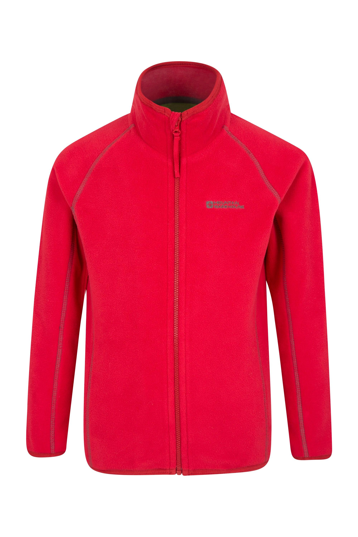 Rascal Kids Microfleece Jacket - Red