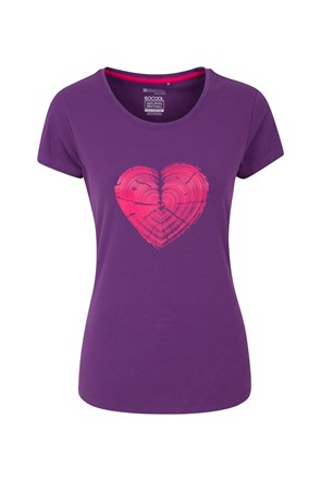 Heart Stump Womens Tee
