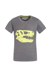 Skeleton Dino Kids Tee