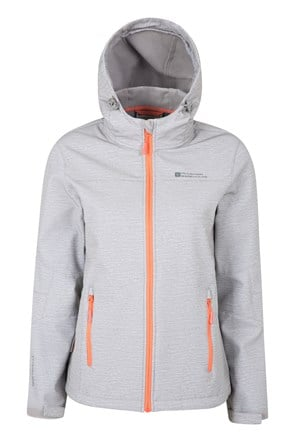 Exodus Womens Printed Softshell Jacket