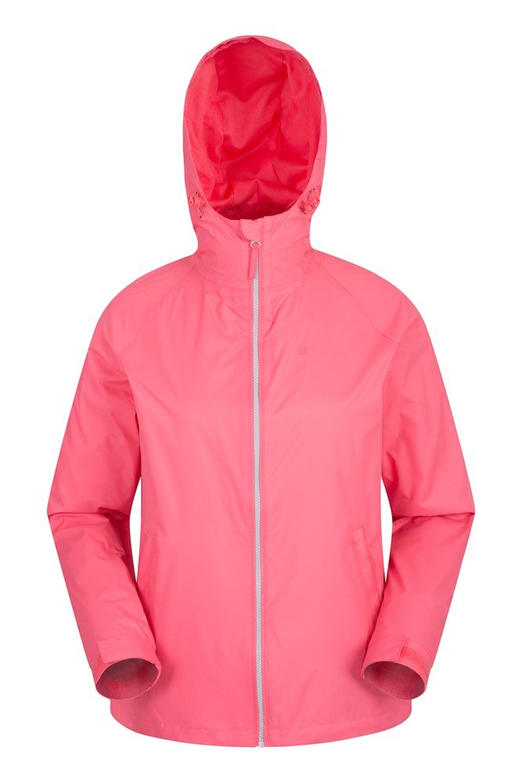 Sandbank Womens Waterproof Jacket - Pink