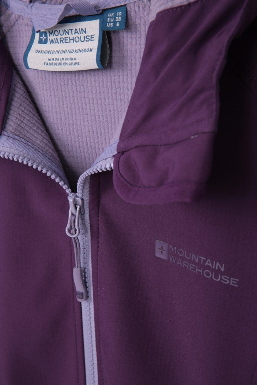 Mountain Warehouse Womens Reykjavik Softshell w// Adjustable Hood//Cuffs Hem