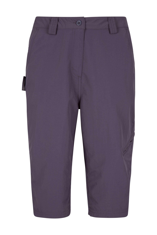 Explore Womens Long Shorts - Purple