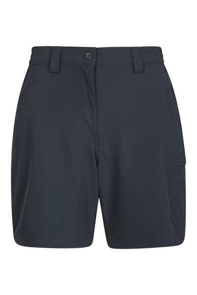Trek Stretch Womens Shorts - Black