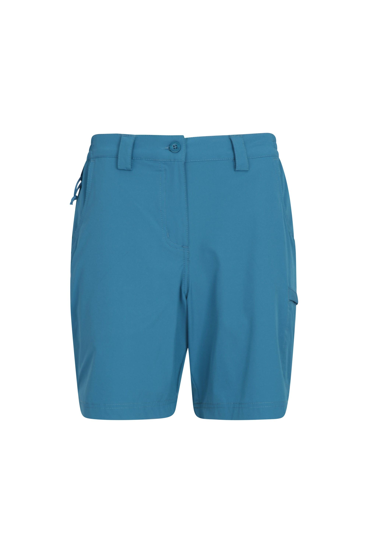 Mountain Warehouse Womens Durable Trek Stretch Shorts w// 4 Way Stretch Fabric