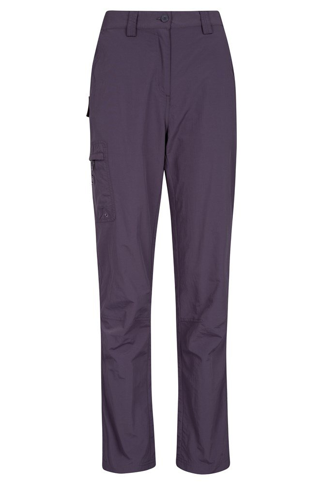 Explore Womens Trousers - Short Length - Purple