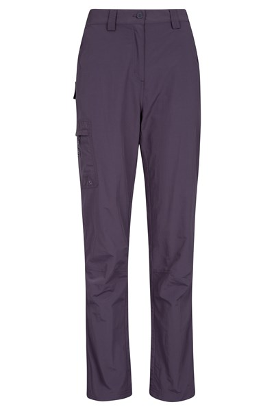 Explore Womens Trousers - Short Length - Purple