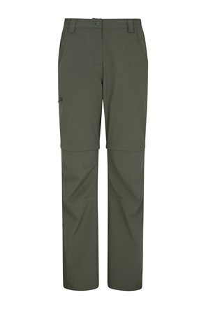 Travelling Stretch Anti Mosquito Womens Convertible Trousers
