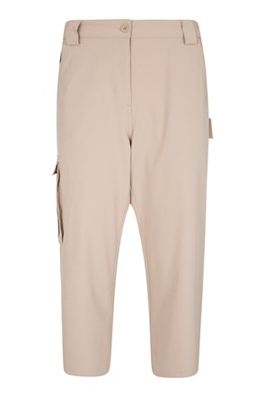 Travelling Stretch Anti-Mosquito Womens Capris