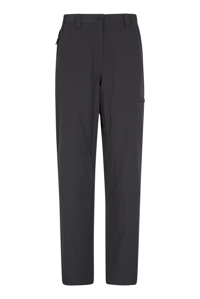 Trek Stretch Womens Trousers - Black