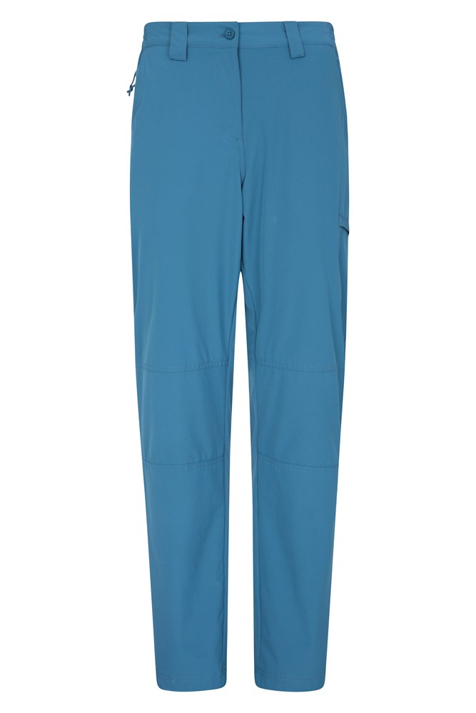 Trek Stretch Womens Trousers - Blue