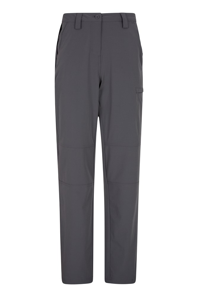 Trek Stretch Womens Trousers - Grey