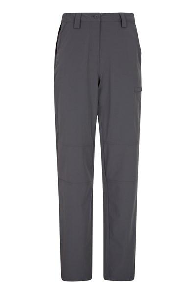 Trek Stretch Womens Trousers - Grey