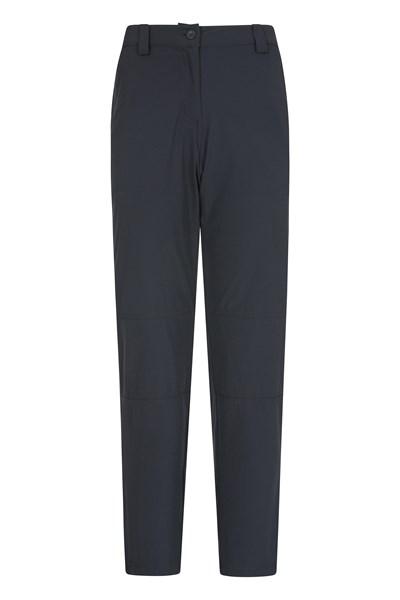 Trek Stretch Womens Trousers - Short Length - Black