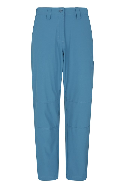 Trek Stretch Damenhose - Kurze Länge - Blau