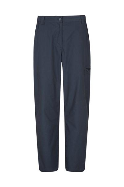 Trek Stretch Womens Trousers - Short Length - Grey