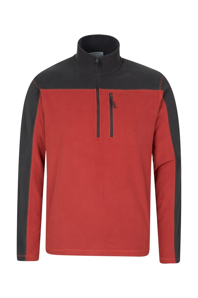 024938 ora argyle half zip fleece men aw17 1