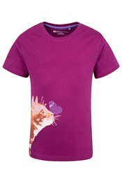 Kitty Cat Kids Tee