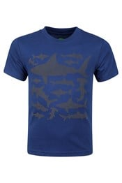 Shark Stamp Kids Tee