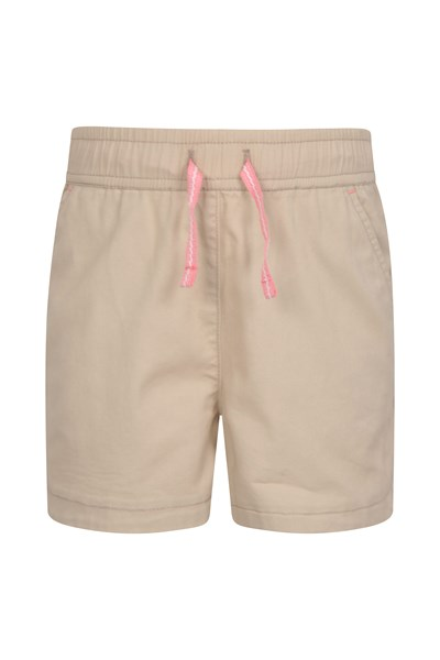 Waterfall Kids Shorts - Beige