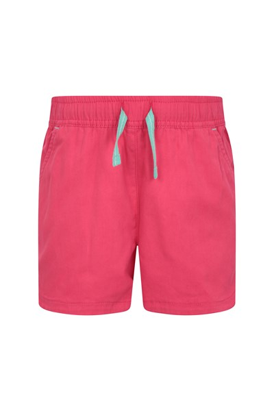 Waterfall Kids Shorts - Pink