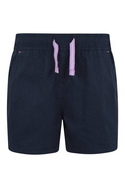 Waterfall Kids Shorts - Navy