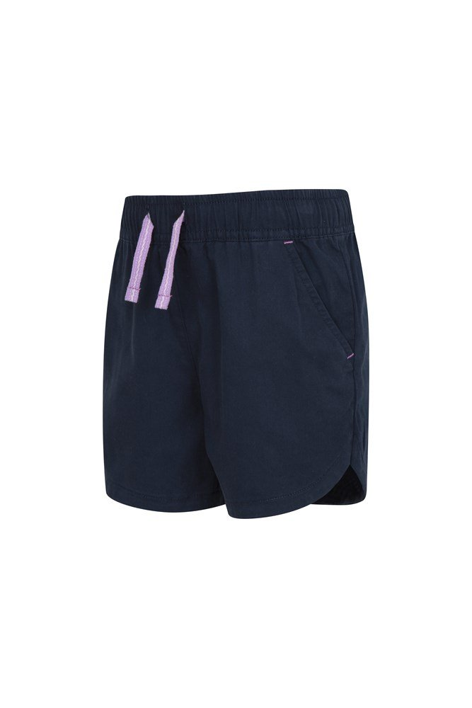 Mountain Warehouse Waterfall Kids Shorts 100/% Cotton Summer Pants