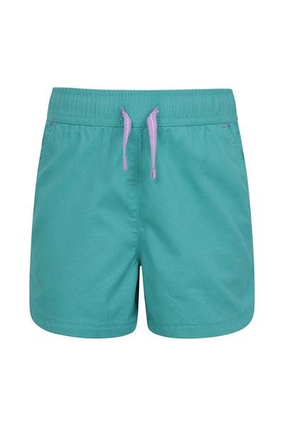 Waterfall Kids Shorts - Teal