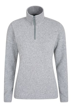 Idris Womens Half Zip Fleece