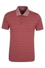 Saltash Mens Striped Polo
