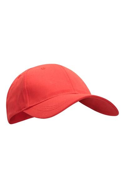 Womens Baseball Cap - Red