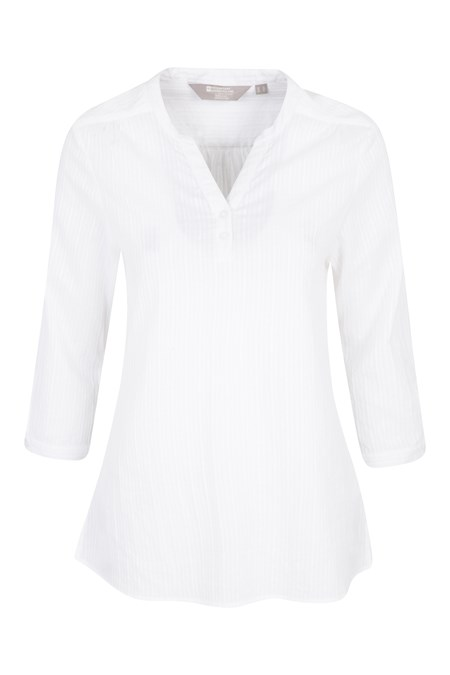 025006 PETRA WOMENS RELAXED FIT 3/4 SLEEVE SHIRT