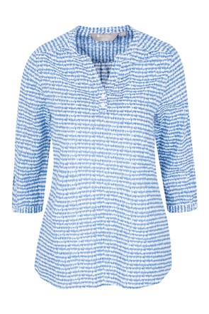 Petra Printed Womens 3/4 Sleeve Shirt
