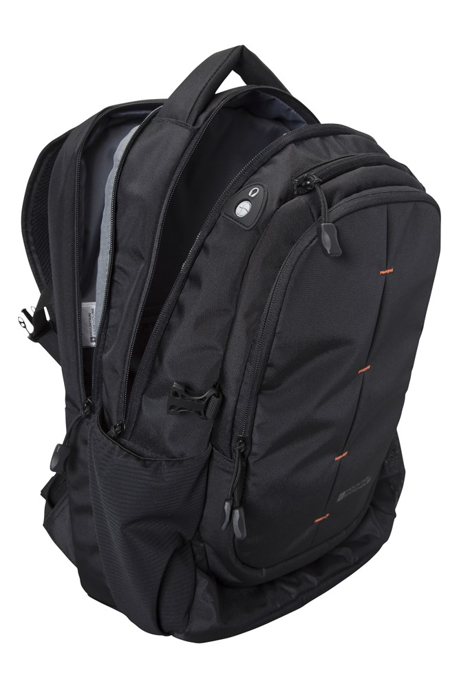 Durable Daypack 30L Backpack Laptop Compartment Rucksack Mountain Warehouse Vic Laptop Bag