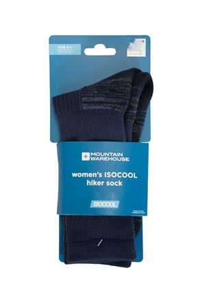 IsoCool Womens Hiker Socks