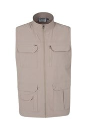 Travelling Stretch Mens Gilet