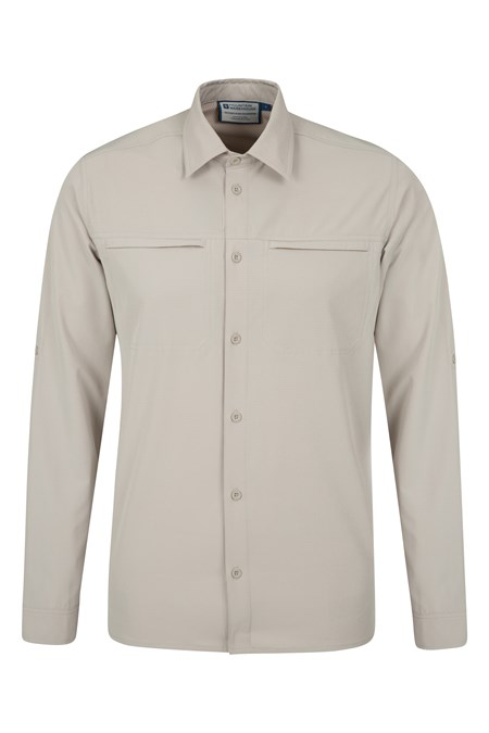 025041 TRAVELLING STRETCH CONVERTIBLE SHIRT