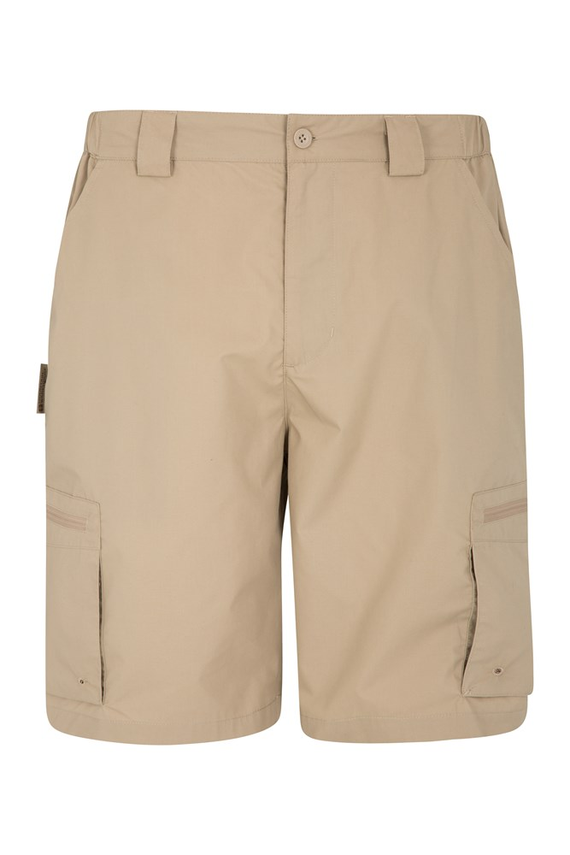 Trek Mens Shorts - Beige