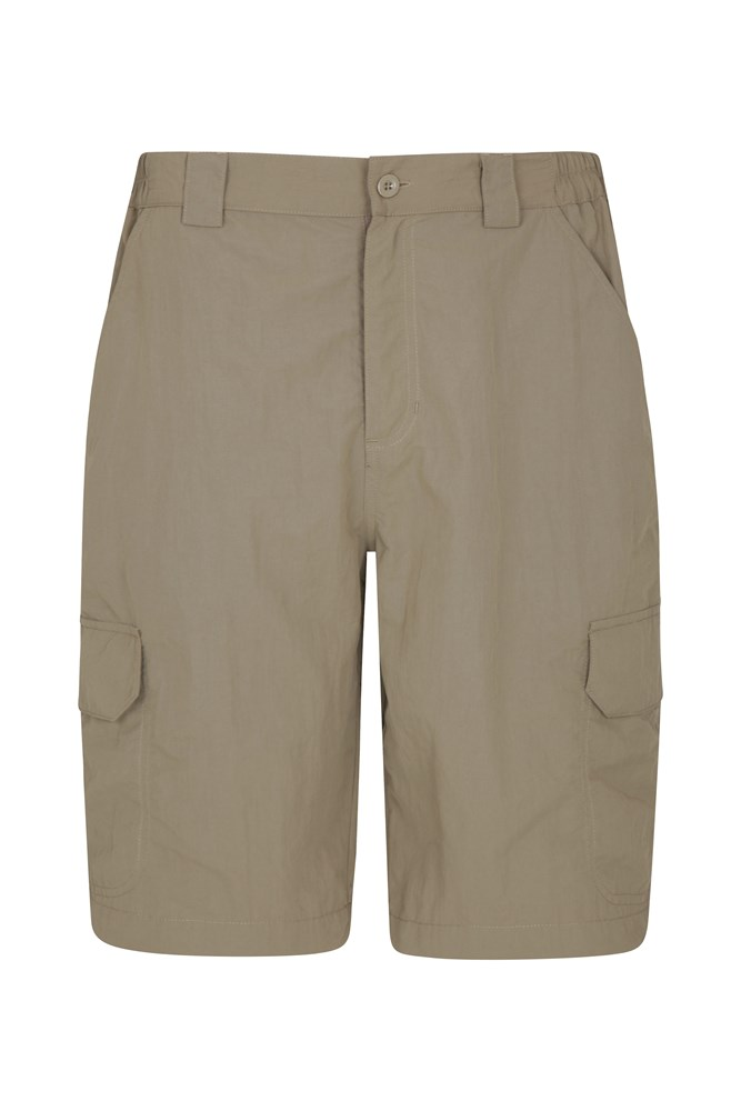 Trek Mens Shorts - Beige