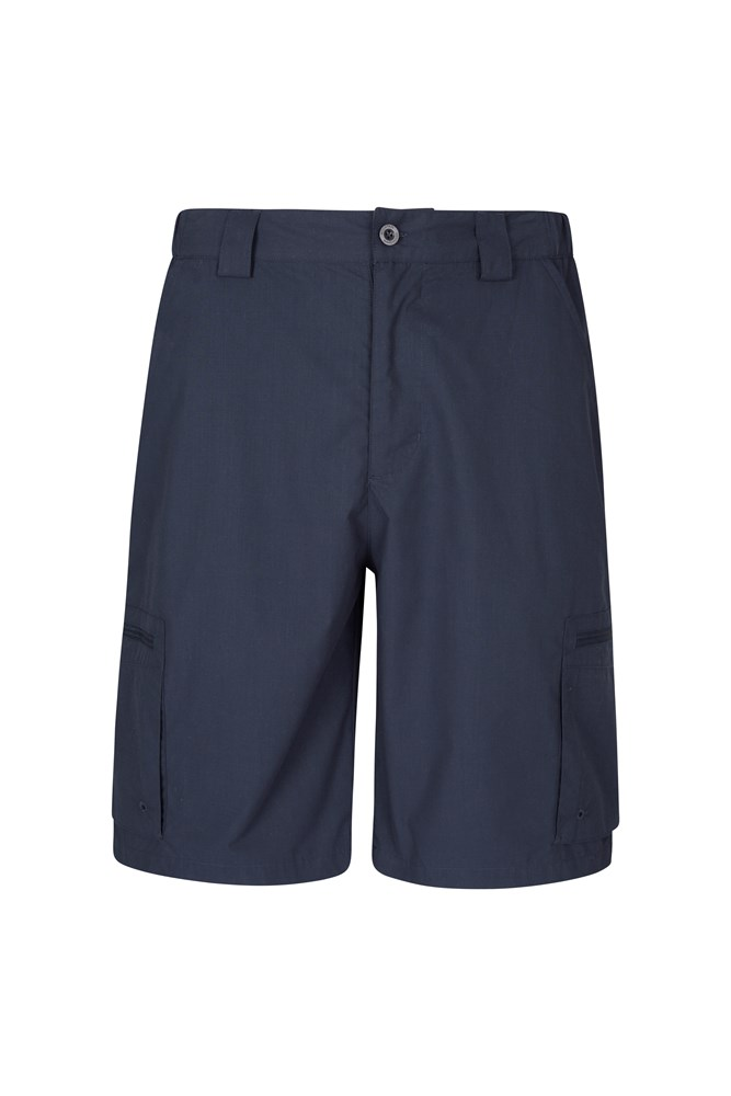 Trek Mens Shorts - Navy