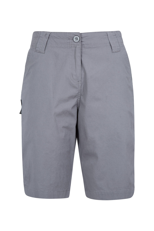 Coast Stretch Womens Shorts - Grey