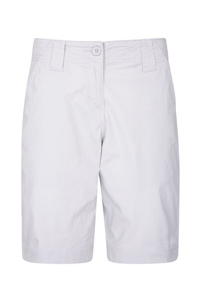 Coast Stretch Womens Shorts - Grey