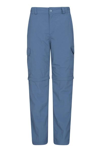 Explore Convertible Mens Trousers - Blue