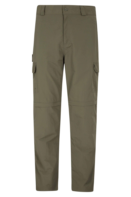 Explore Convertible Mens Trousers - Green